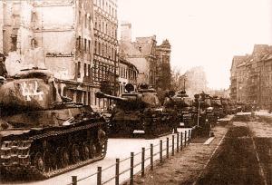Soviet tank IS-2