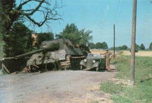 подбитый танк